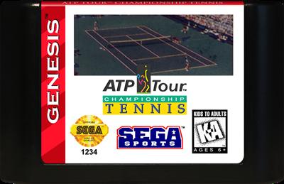 ATP Tour Championship Tennis - Cart - Front