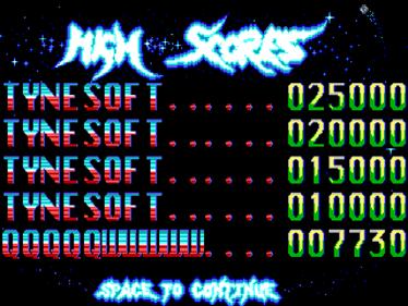 3D Pinball - Screenshot - High Scores