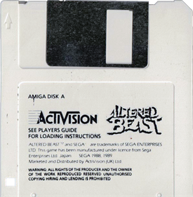 Altered Beast - Disc