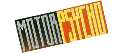 Motor Psycho - Clear Logo