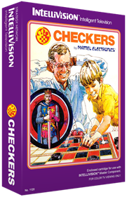 Checkers - Box - 3D