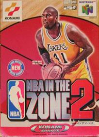NBA in the Zone '99 - Box - Front