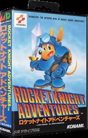 Rocket Knight Adventures - Box - 3D