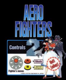 Aero Fighters 2 - Arcade - Marquee