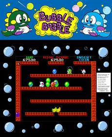 Bubble Bobble - Fanart - Box - Front