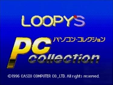 Pasokon Korekushon - Screenshot - Game Title