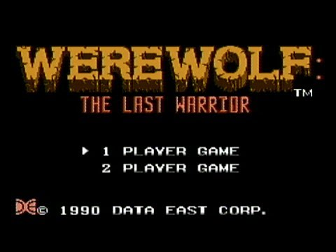 Werewolf: The Last Warrior Details - LaunchBox Games Database
