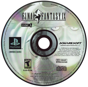 Final Fantasy IX - Disc