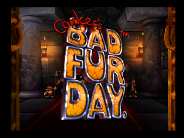 Conker's Bad Fur Day - Screenshot - Game Title