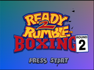 Ready 2 Rumble Boxing: Round 2 - Screenshot - Game Title