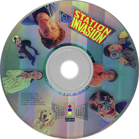 Club 3DO: Station Invasion - Disc