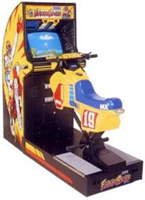 Enduro Racer - Arcade - Cabinet