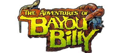 The Adventures of Bayou Billy - Clear Logo