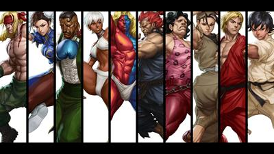 Street Fighter III: 3rd Strike: Fight for the Future - Fanart - Background