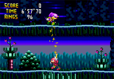 Knuckles' Chaotix - Screenshot - Gameplay
