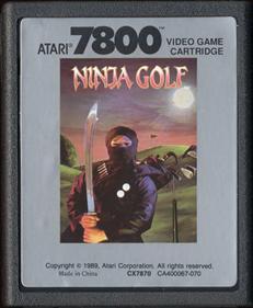 Ninja Golf - Cart - Front