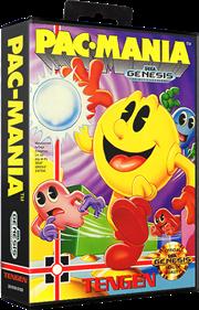 Pac-Mania - Box - 3D