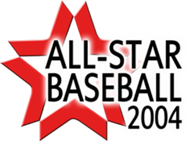 All-Star Baseball 2004 - Clear Logo