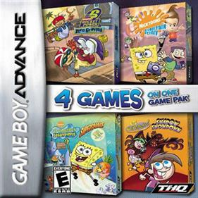 4 Games on One Game Pak: Nicktoons