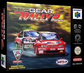 Top Gear Rally 2 - Box - 3D