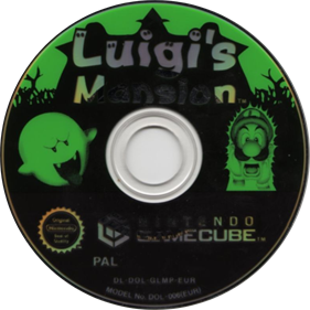 Luigi's Mansion - Disc