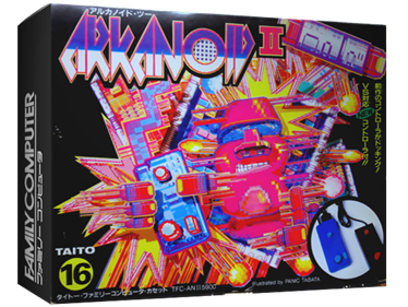 Arkanoid II - Box - 3D