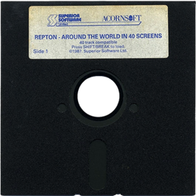 Around the World in 40 Screens - Disc