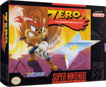 Zero the Kamikaze Squirrel - Box - 3D