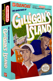The Adventures of Gilligan's Island - Box - 3D