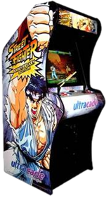 Hyper Street Fighter II: The Anniversary Edition - Arcade - Cabinet