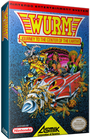 Wurm: Journey to the Center of the Earth - Box - 3D