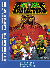 Stone Protectors - Fanart - Box - Front
