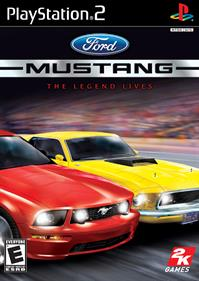 Ford Mustang: The Legend Lives - Box - Front