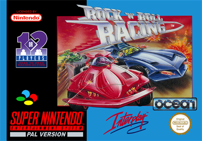 Rock n' Roll Racing - Box - Front