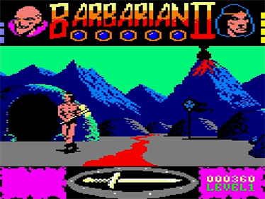 Barbarian II: The Dungeon Of Drax - Screenshot - Gameplay