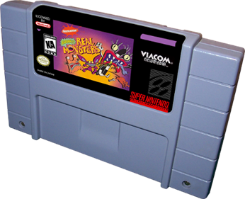 AAAHH!!! Real Monsters - Cart - 3D