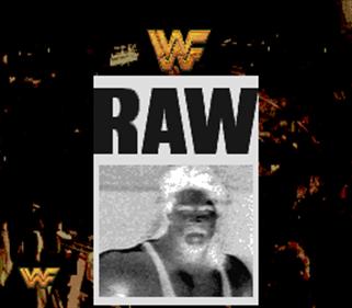WWF Raw - Screenshot - Game Title