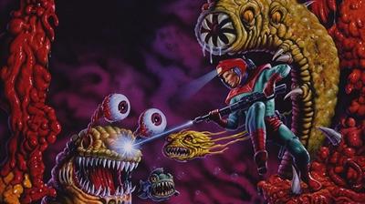 Abadox: The Deadly Inner War - Fanart - Background
