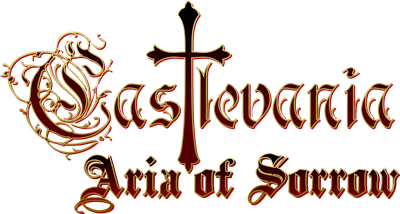 Castlevania: Aria of Sorrow - Clear Logo