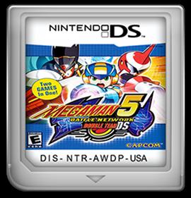 Mega Man Battle Network 5: Double Team DS - Cart - Front