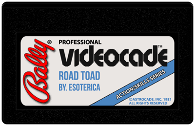 Road Toad - Cart - Front
