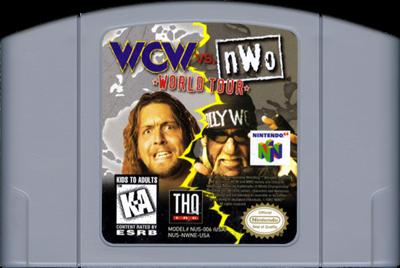 WCW Vs. nWo: World Tour - Cart - Front