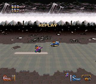 BS Chrono Trigger Jet Bike Special - Screenshot - Gameplay