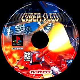 Cybersled - Fanart - Disc