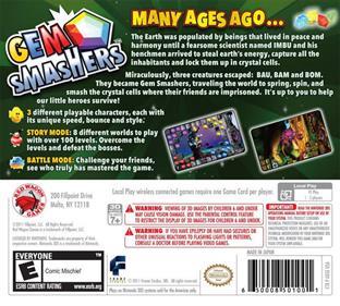 Gem Smashers - Box - Back