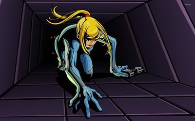 Metroid: Zero Mission - Fanart - Background