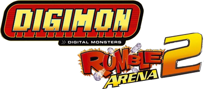 Digimon Rumble Arena 2 - Clear Logo