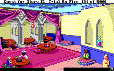 Quest for Glory II: Trial by Fire - Screenshot - Gameplay