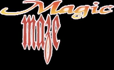 Magic Maze - Clear Logo