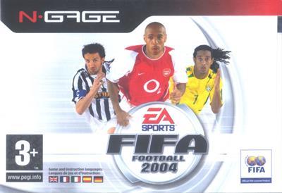FIFA Soccer 2004 - Box - Front